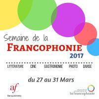 SEMAINE DE LA FRANCOPHONIE - Programmation